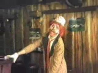 1986 Hoorn: Wim Delmonte - Clowns-act.